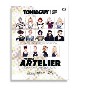 DVD Toni&Guy Artelier Collection 2012-2013