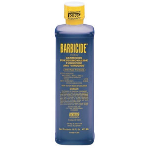 Líquido desinfectante Barbicide 470ml.