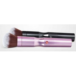 Brocha Eléctrica Advanced Makeup Golden Pink y Golden Black