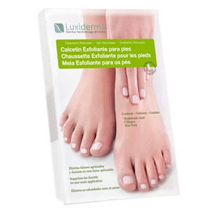 Calcetines Exfoliantes Luxidermia
